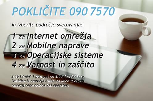 Pokličite 090 7570